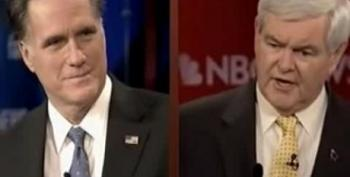 Gingrich To Romney: 'Drop The Pious Baloney'