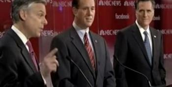 Huntsman To Romney: While You Were Campaigning, I Was Serving My Country