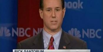 Rick Santorum Asked 'What If' He Had A Gay Son