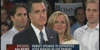 Mitt Romney's Dishonest New Hampshire Campaign Speech