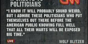TYT: Wolf Blitzer Salutes Politicians