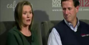 Karen Santorum: Gays 'Vilify' My Husband