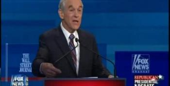 Ron Paul Booed At Debate For Saying Foreign Policy Should Be Conducted By The Golden Rule