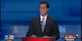 Mitt Romney FlipFlops On Voting Rights; Santorum Capitalizes; Jack Abramoff Laughs