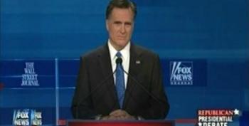 "Mitt Romney Repeats His Hypocrisy On Calling TARP ""A Slush Fund"" During South Carolina Primary Debate"