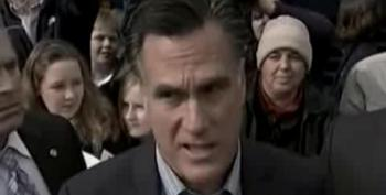 Romney Scolds Protester For Asking About The 99 Percent