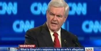 Newt Gingrich Attacks John King For Asking About Ex-Wife Saying He Wanted An Open Marriage In The 90's