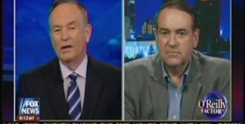 Huckabee Plays The Birther Card On Obama While Defending Romney On Tax Returns