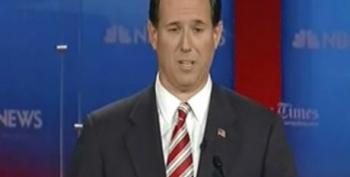 Rick Santorum Lies About Calling For Congressional Intervention In Terri Schiavo Case
