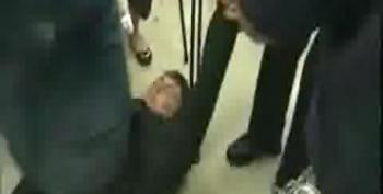 Police Drag Occupy Activists From Santorum Event
