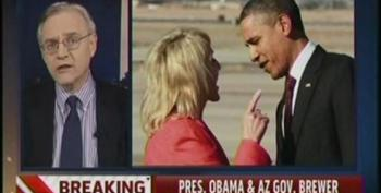 President Obama And AZ Gov. Jan Brewer Share Testy Exchange At Phoenix Airport