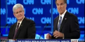 Mitt Romney Fires Newt Gingrich