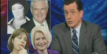 Colbert: Keith Ablow Finds Gingrich Irresistible Even If Republican Establishment Doesn't