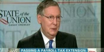McConnell: Deal On Payroll Tax Cut Extension Will Be Done By February