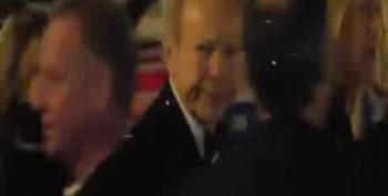 Joe Lieberman Glitter Bombed By Occupy DC