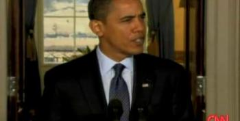 President Obama Defends Stimulus Package: 2009