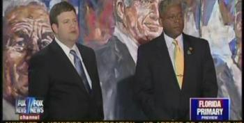 Frank Luntz Gives Allen West Cover After Hateful Remarks Telling Democrats To 'Get The Hell Out' Of The Country