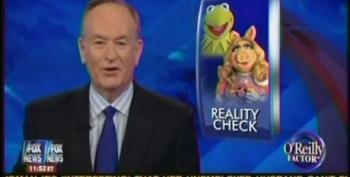 Bill O'Reilly Responds To The Muppets Taking A Shot At Fox News
