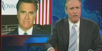 Jon Stewart Knocks Romney For Saying He's 'Not Concerned About The Very Poor'