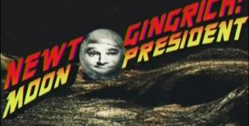 SNL Slams Newt Gingrich For His Moon Colony Promise