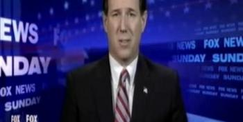 Santorum Suggests Abortion Causes Breast Cancer