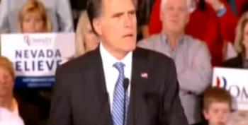 Romney: Obama Trying To 'Bribe The Voters' With Benefits