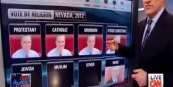 Oops: CNN's John King Calls Romney 'Governor Mormon'