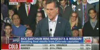 Mitt Romney Uses Father's Bio To Play The Everyman During Speech In Minnesota