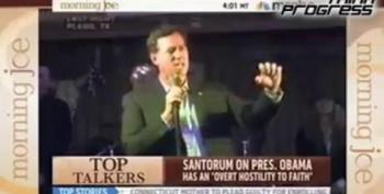 """Rick Santorum Warns Of Looming American """"Reign Of Terror"""""""