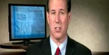 Santorum Suggests Romney 'Rigged' CPAC Straw Poll