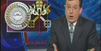 Colbert Takes A Shot At Catholic Bishops And Republicans For Opposition To Contraception Mandate