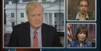 Chris Matthews Warns Santorum He'd Better 'Fix' Statement From Friess Or Kiss Off Women Voters