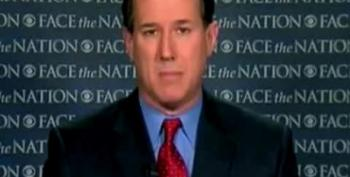 Santorum: Obama 'A Christian,' But Theology Not 'Based On The Bible'