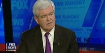 Gingrich Says He Won't Drop Out If He Loses Georgia