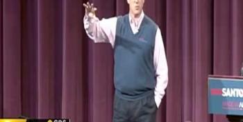 Santorum Seems To Compare Obama To Hitler