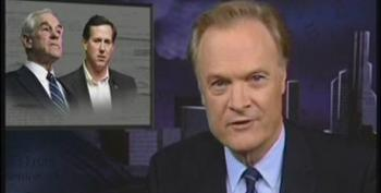 Lawrence O'Donnell On Ron Paul's 'Fake' Libertarianism
