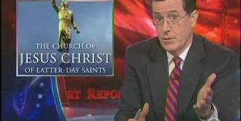 Stephen Colbert Converts All Dead Mormons To Judaism