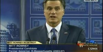 Mitt Romney: 'Ann Drives A Couple Of Cadillacs'