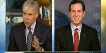 David Gregory Gives Rick Santorum A Pass On 'Indoctrination' Remarks