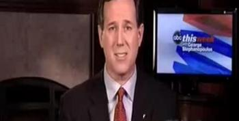 Santorum: JFK's Secularism 'Makes Me Throw Up'