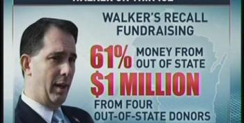 Al Sharpton Rips Scott Walker For Complaining About Out Of State Interests In Recall Election