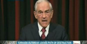 Ron Paul To Tornado Victims: You're On Your Own