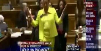 Georgia Women Senators Walk Out, Protesting 'War On Women'