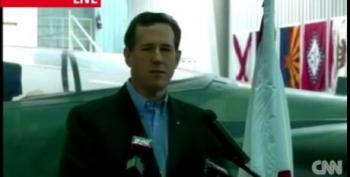 Santorum: Global Warming Is 'Political Science'