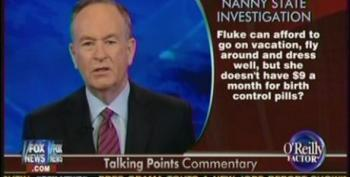 Bill O'Reilly Attacks Sandra Fluke For Dressing Well And Taking Vacations While Advocating For Affordable Birth Control