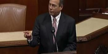 John Boehner Throws A Tantrum On The House Floor Over 'War On Women': 'Give Me A Break!'