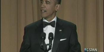 President Obama At The 2012 White House Correspondents Dinner Part 1