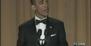 President Obama At The 2012 White House Correspondents Dinner Part 2