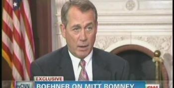 John Boehner: The American People Don't Want To Vote For A Loser