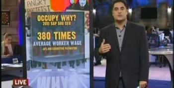 Cenk Uygur On Why The Occupy Wall Street Movement Exists - The System Is Rigged
